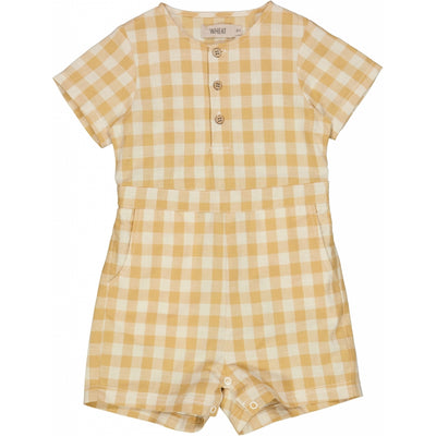 Wheat Playsuit Berg Suit 5087 taffy check