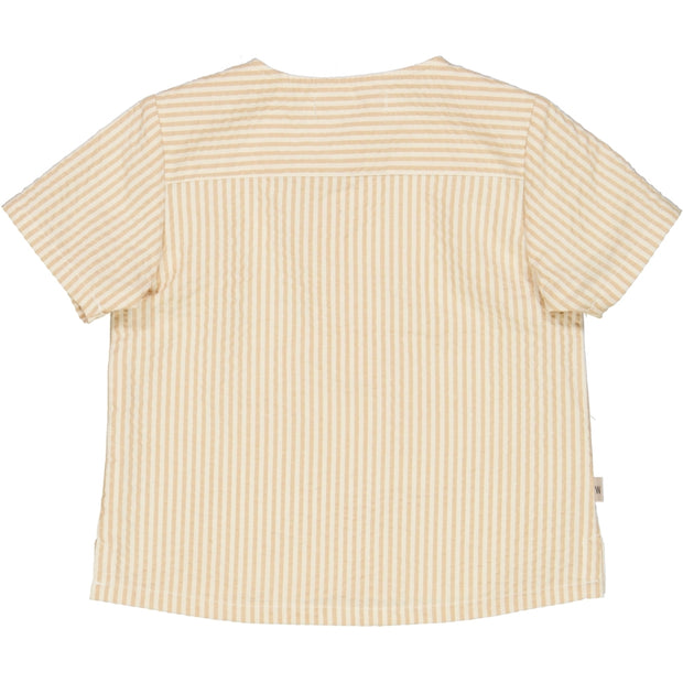 Wheat Shirt Mio Shirts and Blouses 5088 taffy stripe