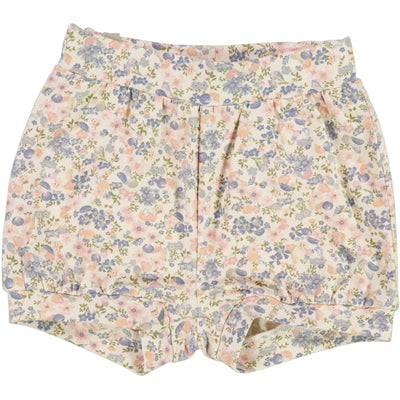 Wheat Shorts Issa Shorts 9054 flowers and seashells