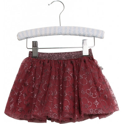 Disney/Marvel Skirt Tulle Mickey X-mas Skirts 2107 Mickey burgundy