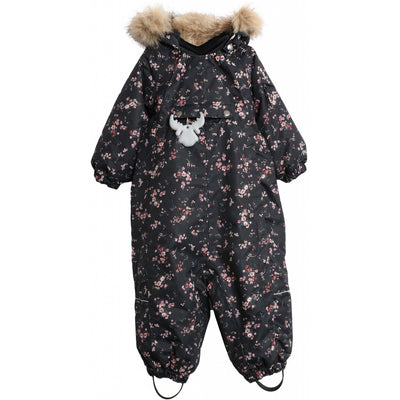 Wheat Outerwear Snowsuit Nickie Tech Snowsuit 1481 blue flowers