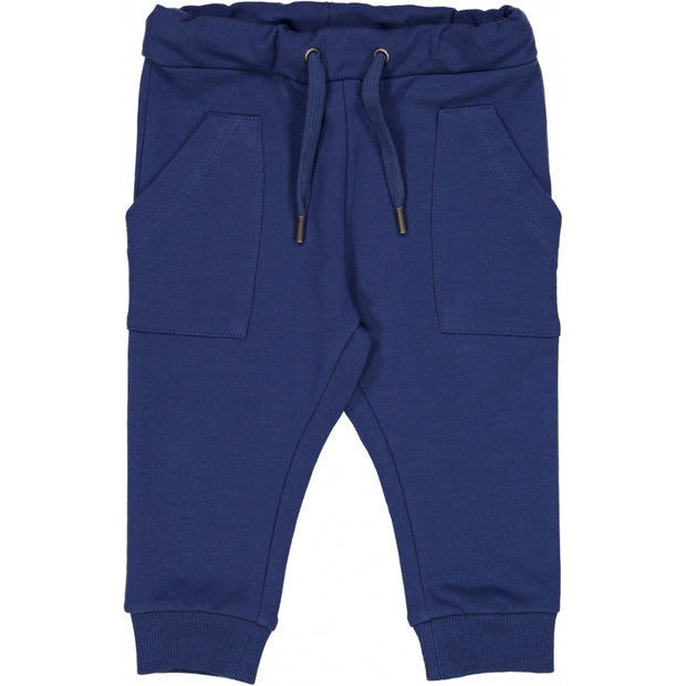 Wheat Sweatpants Nuno Trousers 1014 cool blue
