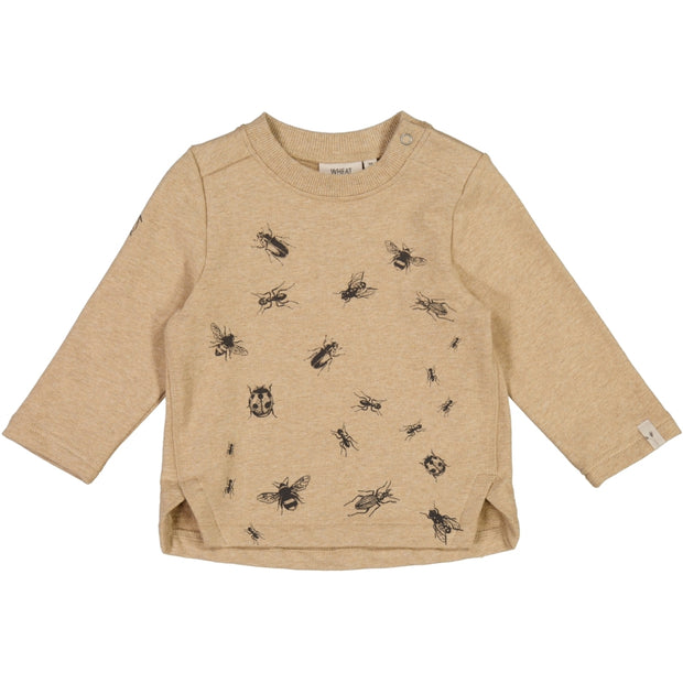 Wheat Sweatshirt Insects Sweatshirts 3230 sand melange