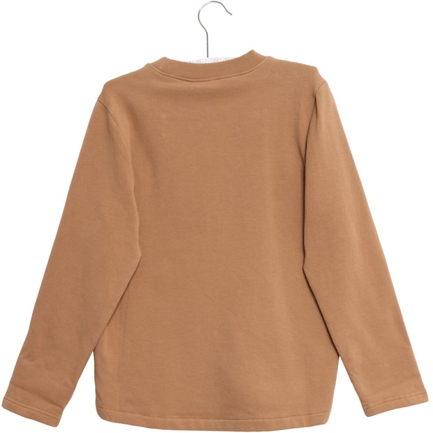 Wheat Sweatshirt Robyn Sweatshirts 5073 caramel