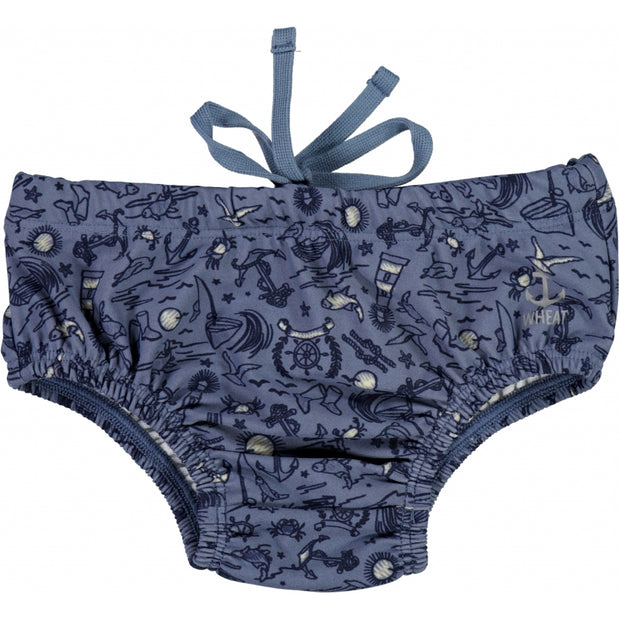 Wheat Swim Shorts Magnus Swimwear 9060 flintstone sealife