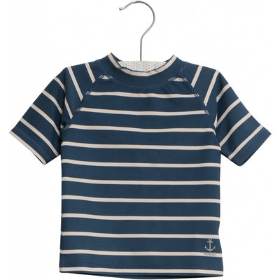 Wheat Swim T-Shirt Jackie SS Swimwear 1324 indigo