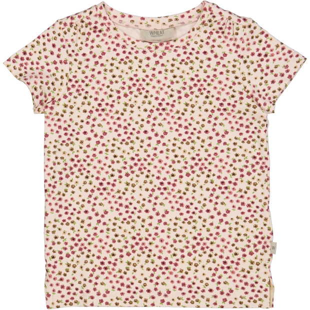 Wheat T-Shirt Angela Jersey Tops and T-Shirts 9059 powder mini flowers