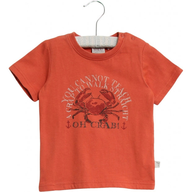 Wheat T-Shirt Crab Jersey Tops and T-Shirts 3315 wood
