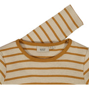 Wheat T-Shirt Striped LS Jersey Tops and T-Shirts 4341 almond
