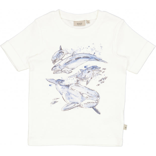 Wheat T-Shirt Whales Jersey Tops and T-Shirts 3180 off white