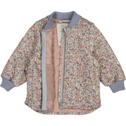 Wheat Outerwear Thermo Jacket Loui Thermo 9052 dusty dove flowers