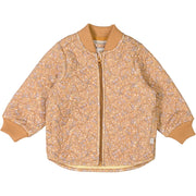 Wheat Outerwear Thermo Jacket Loui LTD Thermo 5090 golden flowers