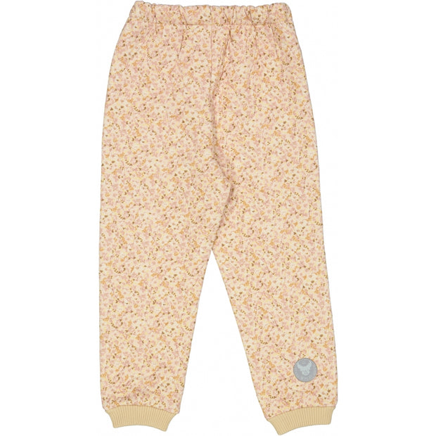 Wheat Outerwear Thermo Pants Alex LTD Thermo 9057 soft beige flowers