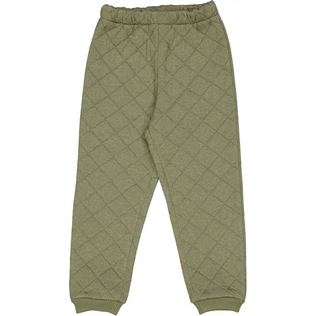 Wheat Outerwear Thermo Pants Alex LTD Thermo 4120 green melange