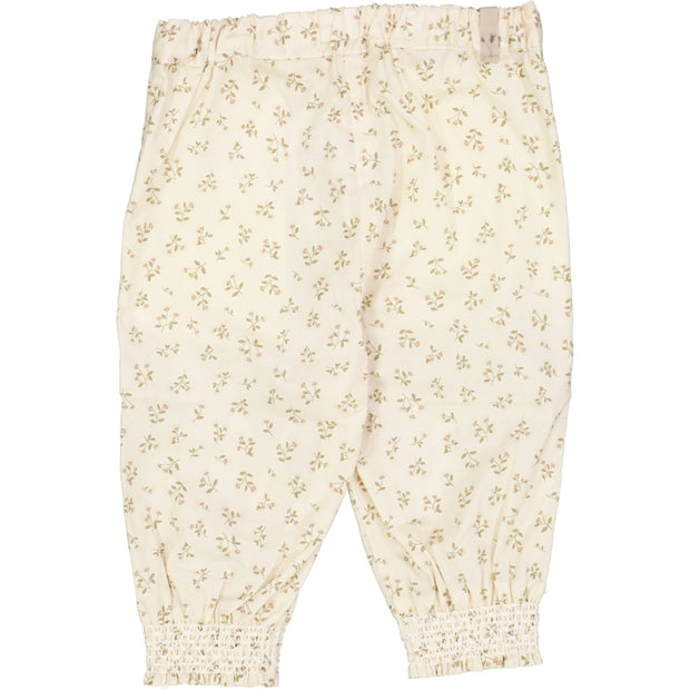 Wheat Trousers Sara Trousers 3130 eggshell flowers