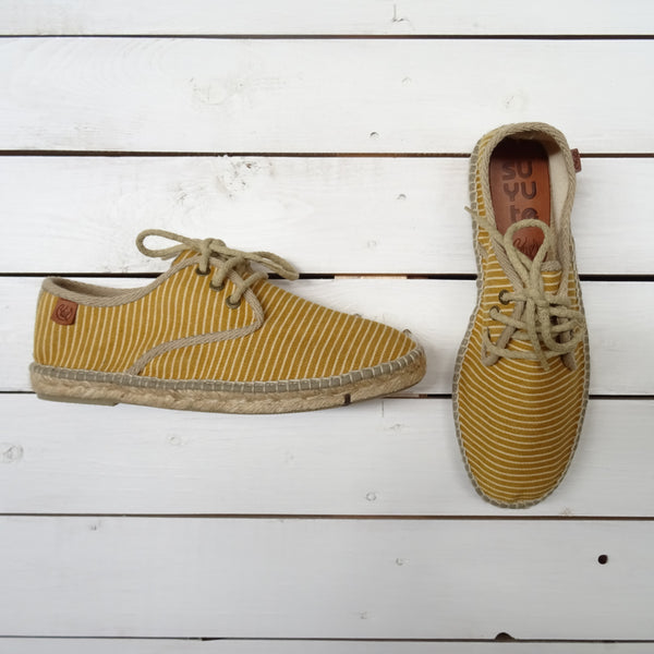 Stripes Blucher Mustard