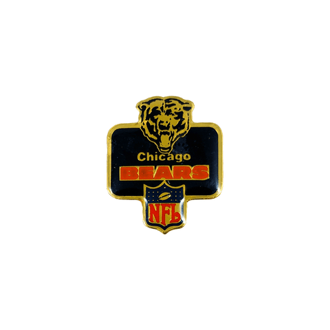 Vintage Chicago Bears Badge Pin, Vintage Pin, peabe, peabe - peabe