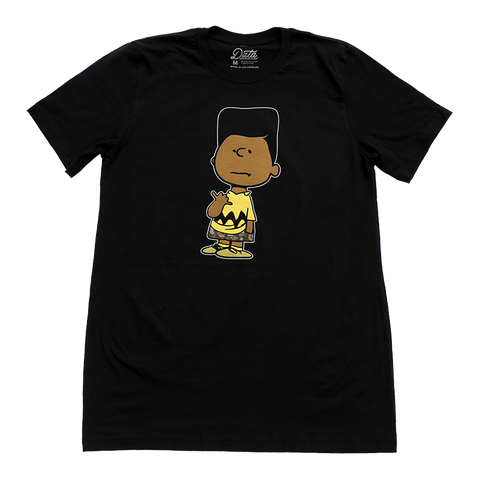 Data Crew x Peabe: Brown Charlie Tee, Clothing, peabe, peabe - peabe