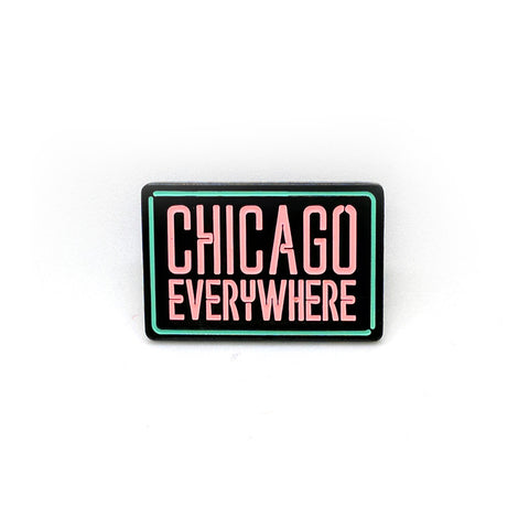 Jugrnaut x Peabe: Chicago Everywhere Pin (Glow in the Dark), , peabe, peabe - peabe