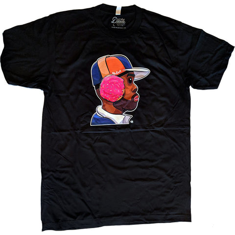 Data Crew x Peabe: Dilla Donuts Tee, Clothing, peabe, peabe - peabe