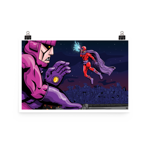 "Magneto ""Free Throw Line"" Poster, , peabe, peabe - peabe"