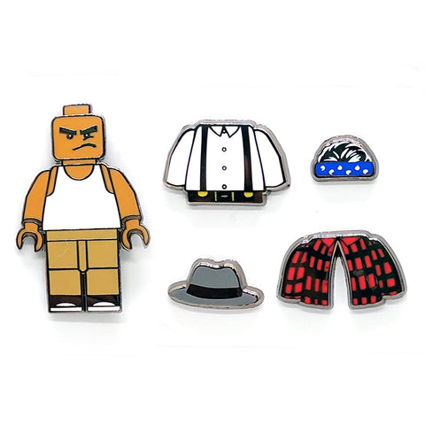 Move In Silence x Peabe: Vato Kit Pin