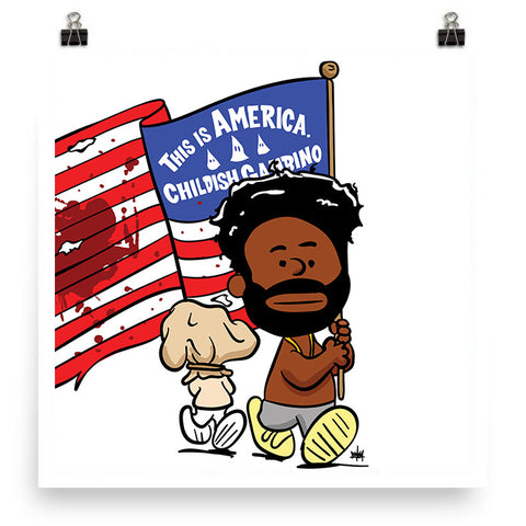 This is America, Print, peabe, peabe - peabe