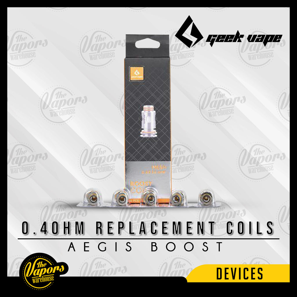 GeekVape Aegis Boost Replacement Coils 0.4ohm (Mesh)