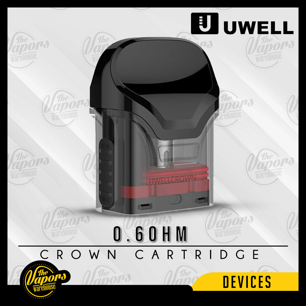 Uwell Crown Cartridge 2PCS/Pack 0.6oHm