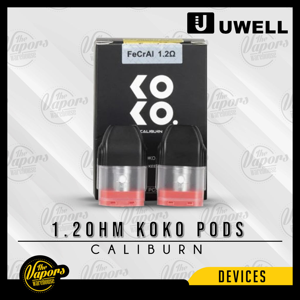 UWELL CALIBURN REPLACEMENT PODS 1.2ohm KOKO Pods