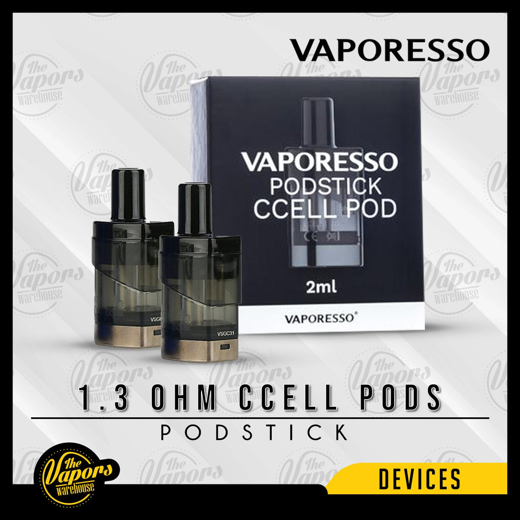 VAPORESSO PODSTICK REPLACEMENT PODS 1.3 ohm CCELL Pods