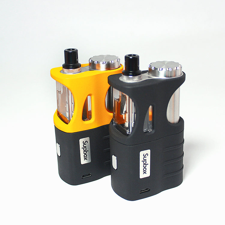 SXK - Supbox Sevo 70w Box Mod Kit Black,Black / Yellow