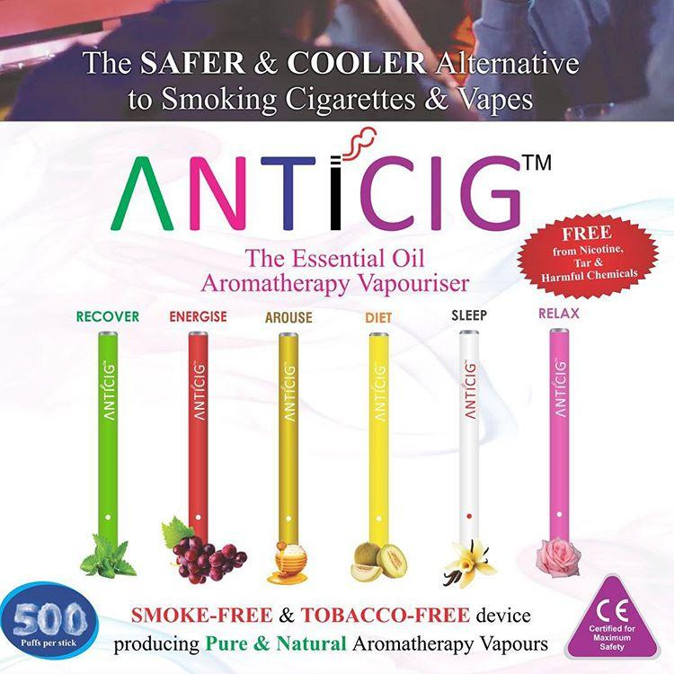 anticig aromatherapy vapouriser
