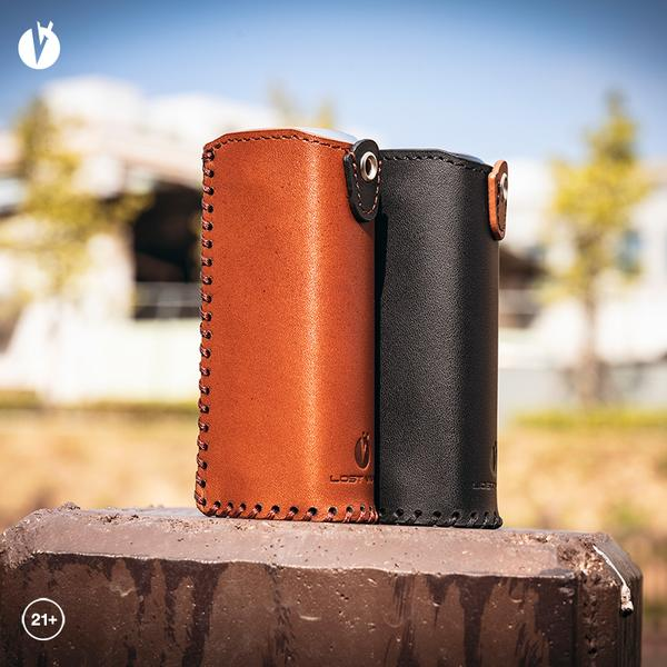 GRUS LEATHER CASE Black,Brown