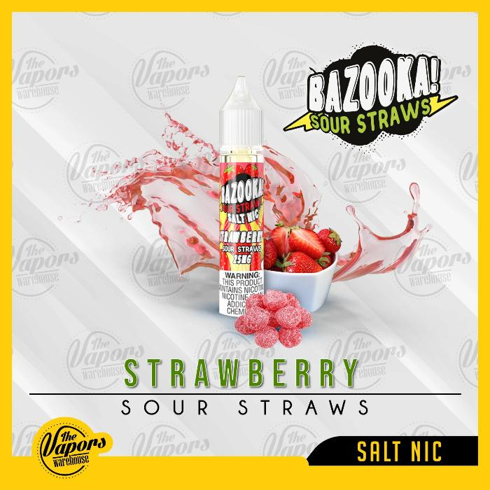 BAZOOKA SALTNIC - STRAWBERRY