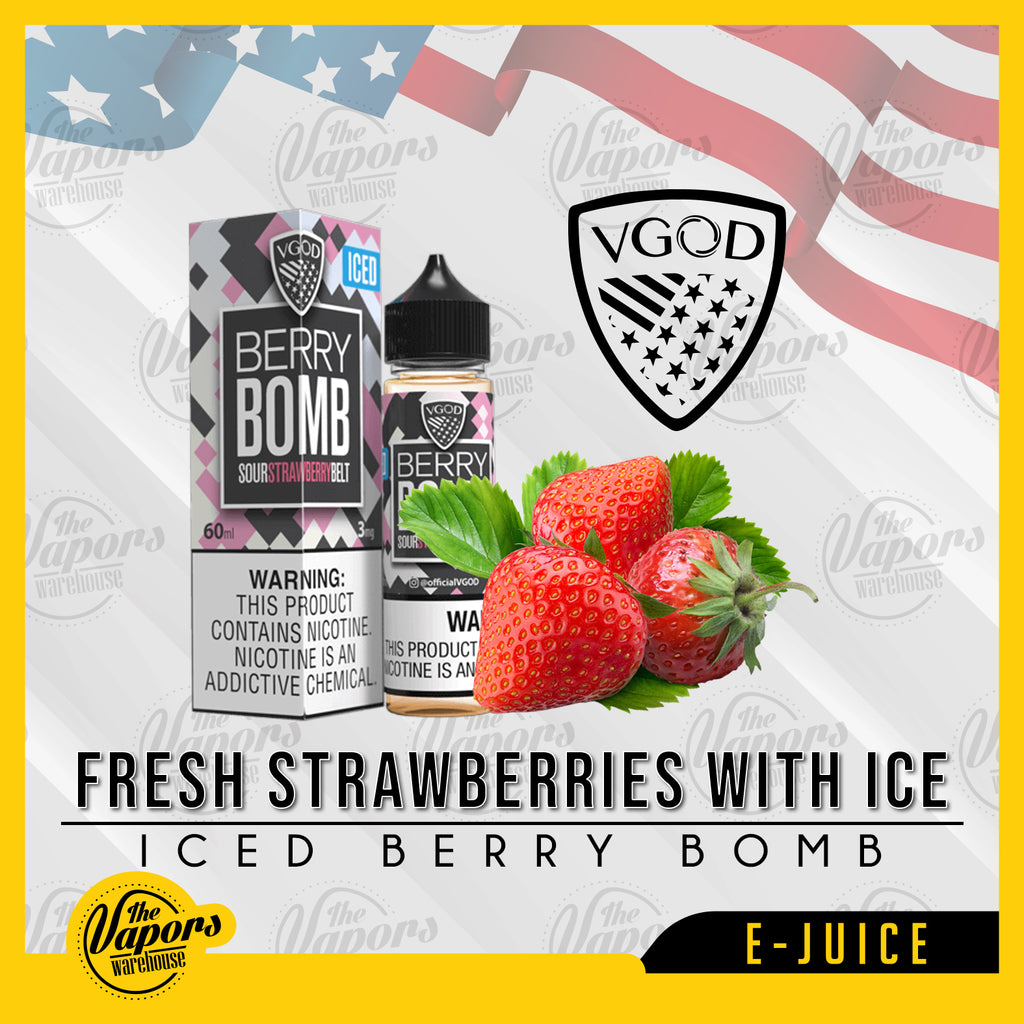 VGOD - ICED BERRY BOMB