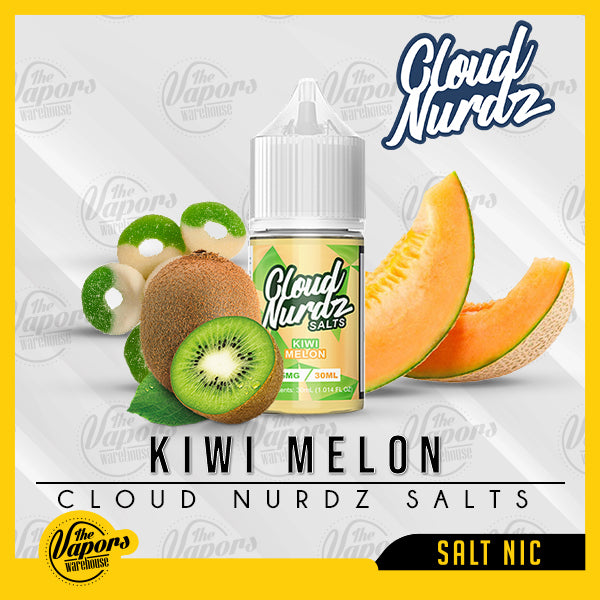 cloud nurdz salt nic kiwi melon