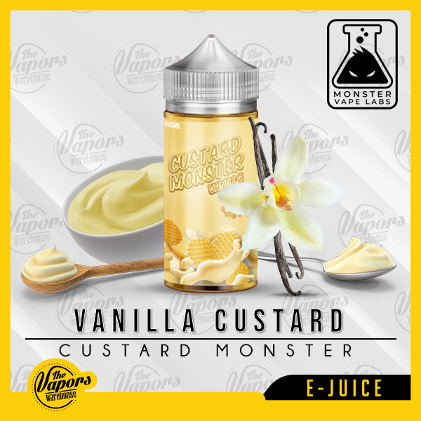 Custard Monster - VANILLA CUSTARD 100ml / 3mg,100ml / 6mg