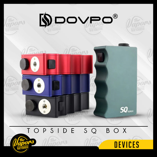 ⚠️ DOVPO - Topside SQ Box Mod (Mechanical) Black,Red,Green,Blue