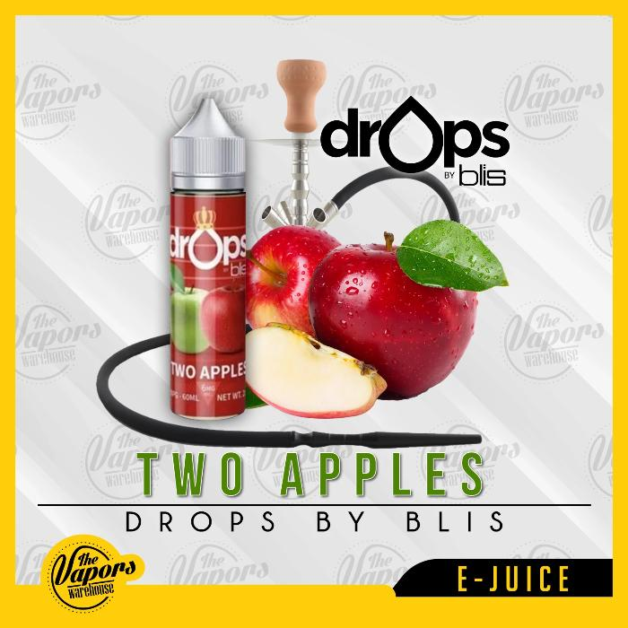 Drops By Blis Two Apples (Shisha)