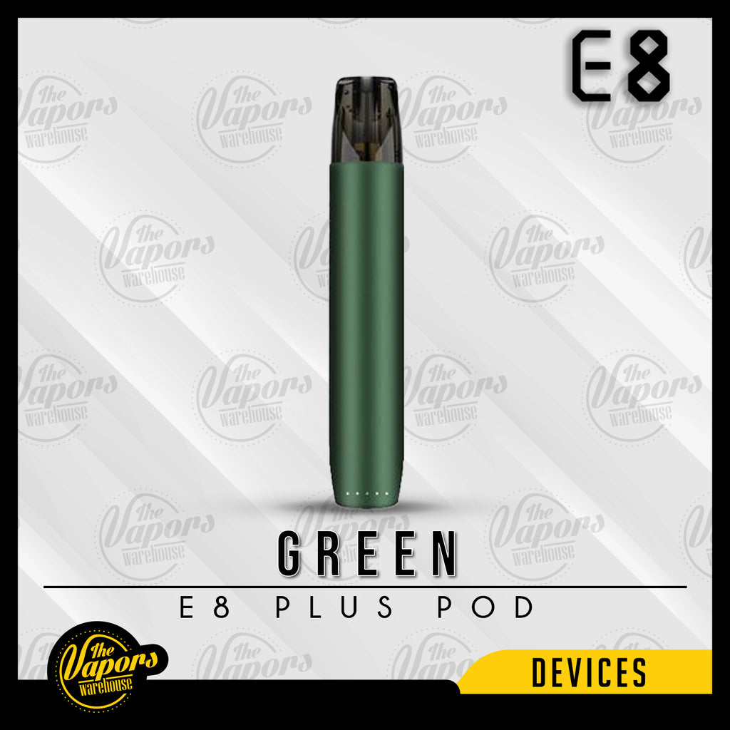 E8 PLUS POD SYSTEM KIT Green