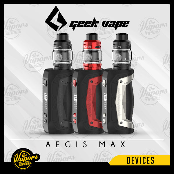 GEEK VAPE AEGIS MAX 100W STARTER KIT Space Black,White Storm,Red Phoenix