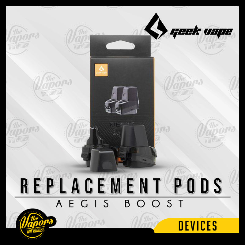 Geekvape Aegis Boost Replacement Pod Default Title