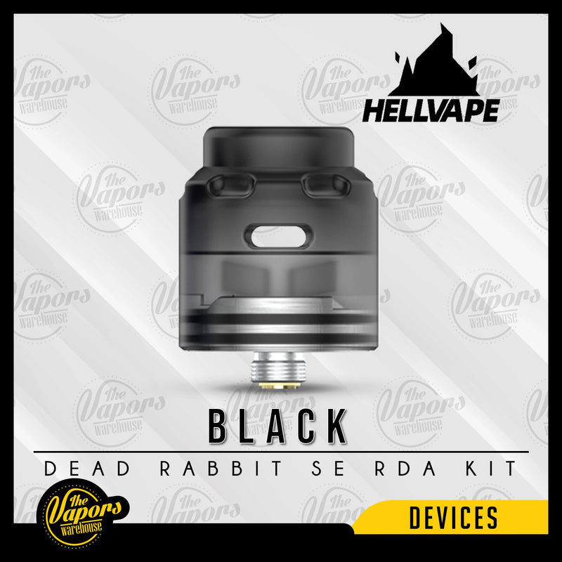 HELLVAPE DEAD RABBIT SE 4-IN-1 RDA KIT Black