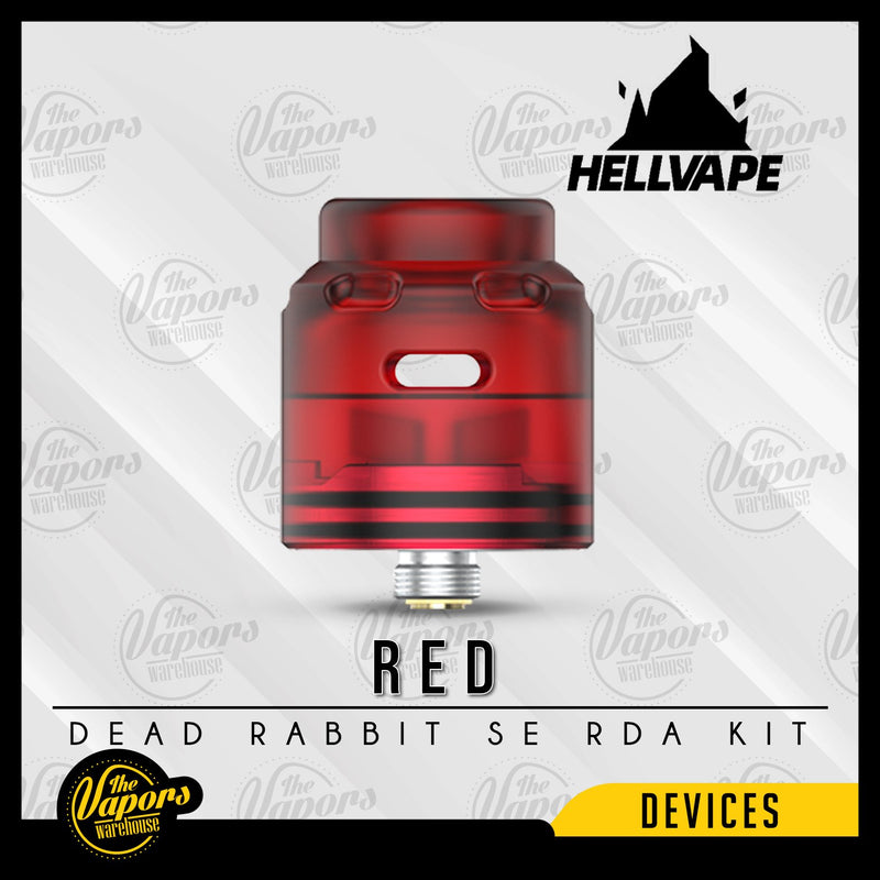 HELLVAPE DEAD RABBIT SE 4-IN-1 RDA KIT Red
