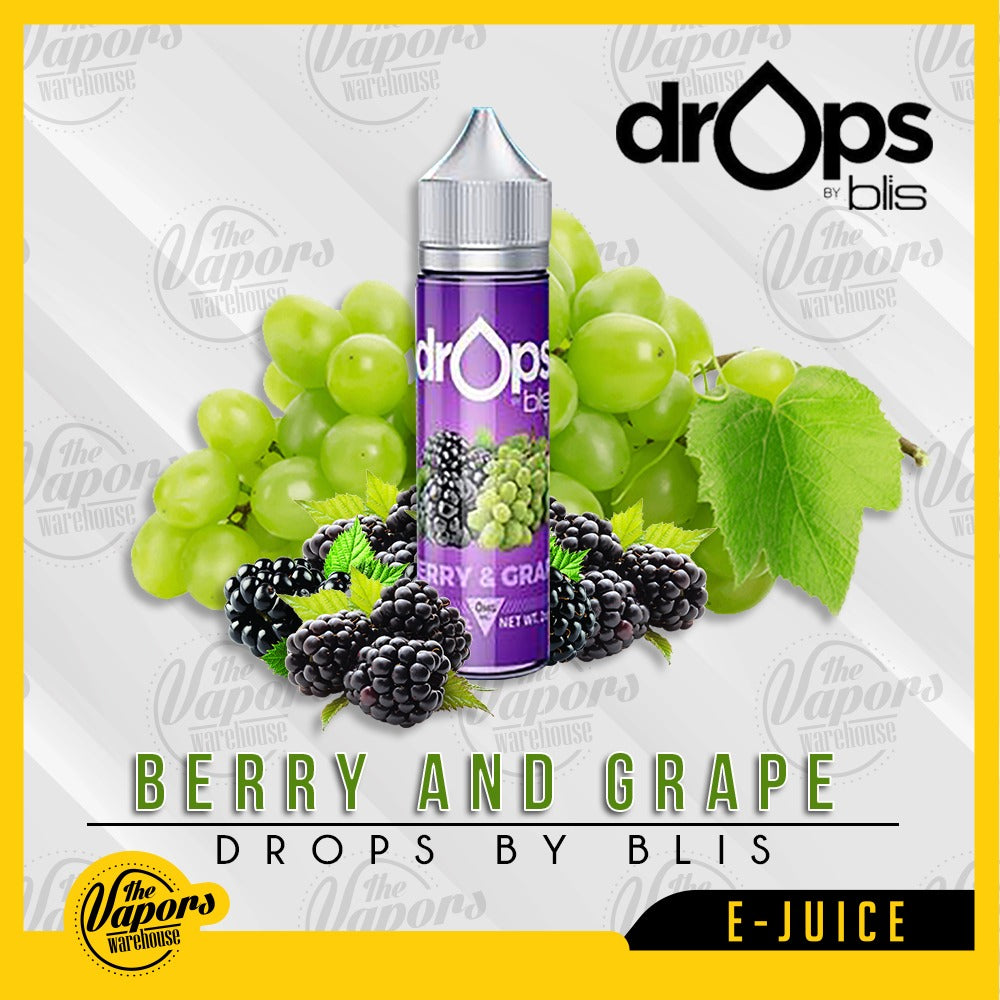 drops by blis berry and grape 60ml