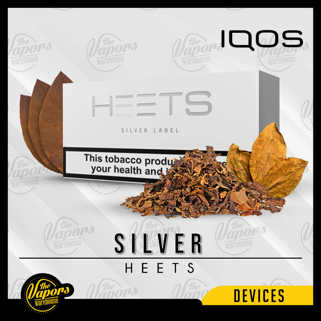 Iqos Heets Silver