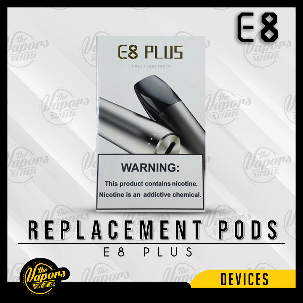 IRES - E8 PLUS REPLACEMENT PODS (4 PODS) Default Title