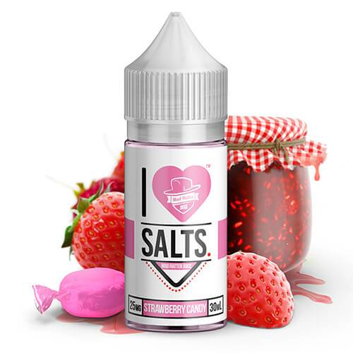 i love salts by mad hatter strawberry candy 30ml