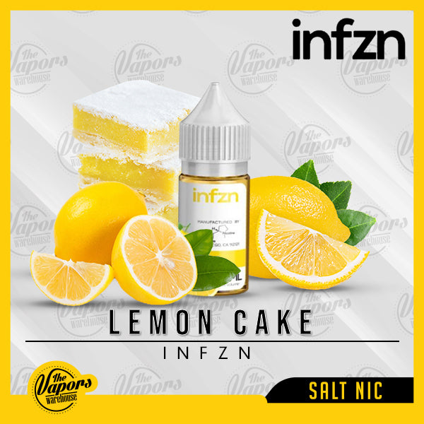 Infzn | Lemon Cake 30ml / 18mg,30ml / 36mg,30ml / 50mg